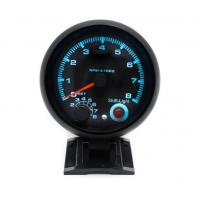 Buy cheap 3.75 inch Car Tachometer With 7 Colors Led 0-8000RPM Black Case and Rim Rpm Meter Gauge Car Meter from wholesalers