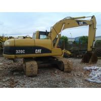Buy cheap Used CAT 320C Excavator Caterpillar 20 Ton 1.0cbm Capacity / Used Construction Machines from wholesalers
