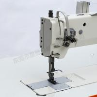 Buy cheap Unison feed double needle sewing machine for car seat sofa from wholesalers
