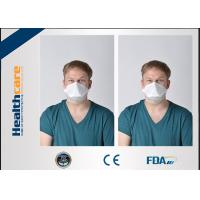 Buy cheap 3 Ply N95 Disposable Face Mask / Disposable Particulate Respirator Clam Shape from wholesalers