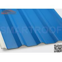 94% Efficiency PVC Hollow Plastic Roofing Panels Sheets With Low Heat Conductivity Manufactures