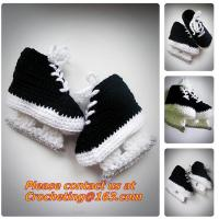 Buy cheap Baby Shoes Infants Crochet Knit Fleece Boots Toddler Girl Boy Wool Snow Crib Shoes Winter Booties from wholesalers