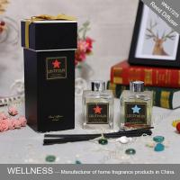 Buy cheap Luxury Home Reed Diffuser 80ml 100ml 150ml With Clear Liquid Bottle from wholesalers