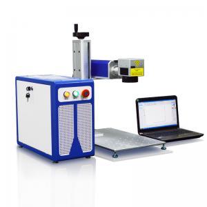 China 20W Fiber Laser Engraving Machine Metal Laser Engraving Plastic Laser Marking on sale
