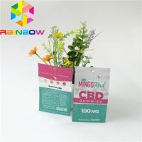 Buy cheap Aluminum Foil Plastic Pouches Packaging Smell Proof Zipper Top CBD Herbal Incense Pack from wholesalers