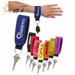 Buy cheap Fashion Custom Logo Neoprene Floating Key Chain Holder /Key Ring Holder. No Minimum Floating Keychain.size is 25.5*2.8cm from wholesalers