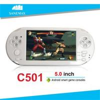 Buy cheap SANEMAX C501 Hot promotion 5 inch HD screen android video game console from wholesalers