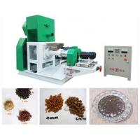 Buy cheap Automatic Floating Fish Feed Extruder Machine , Feed Production Machine from wholesalers