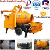 Buy cheap mini concrete mixer pump, manual concrete mixer machine, 30m3/h concrete mixer pump with electric engine for sale from wholesalers