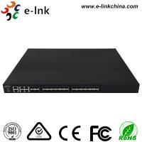 Buy cheap Managed Ethernet Switch Fiber Optic 24 10Gbps SFP+ ports + 4 Gigabit TP / SFP combo ports from wholesalers