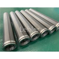 Wholesale 500 Micron Slot Conical Wedge Wire Filter Elements Stainless Steel 316L from china suppliers