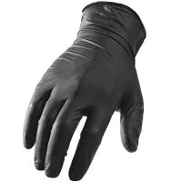 Buy cheap Black Disposable Hand Protection Gloves Powder - Free Nitrile 9 Inches Or 12 Inches from wholesalers