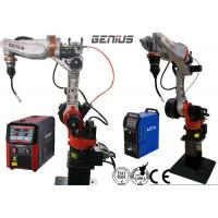 Buy cheap Automobile MIG Welding Robot Space Saving Preengineered Heavy Duty Boost Cycle Time from wholesalers