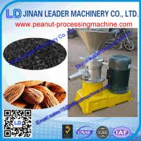 Buy cheap Easy operation small peanut grinding machine for peanut/sesame tahini used home from wholesalers
