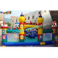 Buy cheap OEM Safety Inflatable Amusement Park Play Structures 14L x 7W x 5H Meter product