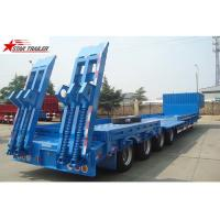 Buy cheap 4 Axles Hidden Tires Pipe Transport Trailer Overheight Equipment Transporting from wholesalers