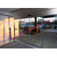Buy cheap Fully Glazed Overhead Sensor Doors Glass Facade Opening Sliding Doors Automatic from wholesalers