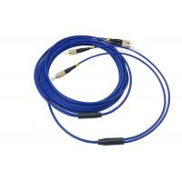 Buy cheap 3m / 5m 2 Cores SM Armored Fiber Patch Cable , LC FC SC ST Duplex Patch Cord from wholesalers