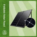 Buy cheap Foldable solar panel kits 120watt / mono foldable solar panel with contoller for car, camping ect from wholesalers