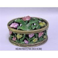 Buy cheap Flowers Jewelry Box from wholesalers