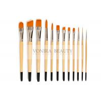 Buy cheap Nylon Body Paint Brushes For Acrylic Oil & Watercolor Student Artist Brushes For Beginners & Fine Art Painters from wholesalers