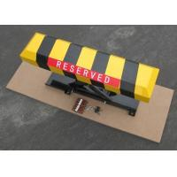 Retractable car Parking area lock Road Safety Equipments battery by remote control Manufactures