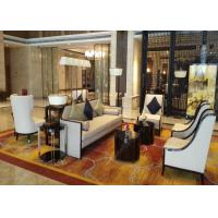 Buy cheap 4 Star 5 Star Waiting Area Hotel Lobby Furniture  High Standard Environment - Friendly from wholesalers
