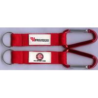 Buy cheap Lightweight Lovely Carabiner Key Chain With Laser Engraved Logo from wholesalers