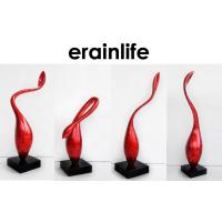 Buy cheap Polyresin Sead Home Decorating Accessories 4pcs Red Bud Table Top Standing from wholesalers