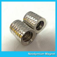 Wholesale Multipole Radial Magnetization Neodymium Magnets Ring Shaped for Speaker / Sensor from china suppliers