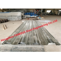 Buy cheap Galvanized Corrugated Steel Composite Floor Decking Sheet For Construction from wholesalers