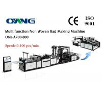 Wholesale Eco Recycled Automatic Non Woven Bag Making Machine , Carry Bags Manufacturing Machines from china suppliers