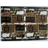Buy cheap PCBA Multilayer Custom PCB Board FR4 Material W / Green Solder Thickness 1.6mm from wholesalers