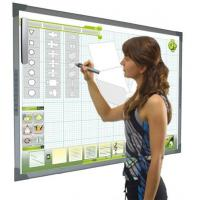 Buy cheap wireless Interactive Electronic Whiteboard Price With 2*ir Pen For Business And Education from wholesalers