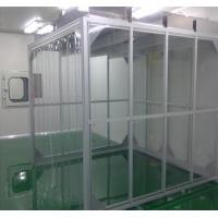 Buy cheap ISO 5-9  Design Softwall Clean Room Customized Size For Electronic Products from wholesalers