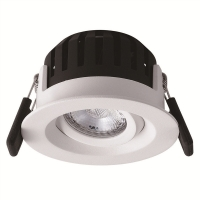 Buy cheap Ra80 High Lumen 8w White Color Led Adjustable Downlight dimmable down lights from wholesalers