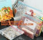 Buy cheap Merchandise Bags zipper transparent pure color bag, FDA Color zipper sandwich reclosable bag, ziplock bag with double co from wholesalers