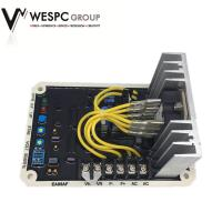Buy cheap High Voltage Portable Generator Voltage Regulator , Black 5A Voltage Regulator EA05AF from wholesalers