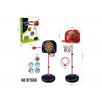 Quality Portable 2 In 1 Magnetic Dart And Little Tikes Adjustable Basketball Hoop for sale