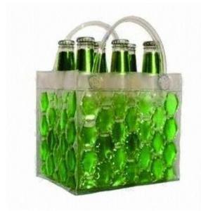 Hot-selling High quality PVC Wine bottle bag Beer bottle bag Bottle holder Beer cooler bag Manufactures