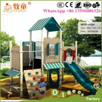 Buy cheap 2016 HOT Sale Nursery School outdoor play area equipment , Outdoor Toddler Playground Games for sale ( WOP-010A) from wholesalers