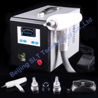 Buy cheap Q Switched ND YAG Tattoo Removal Laser Machine For Birthmark Removal / Eyebrow Removal from wholesalers