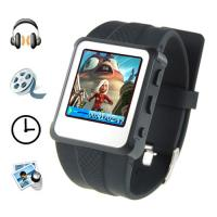 Buy cheap MP4 Player Watch - 1.5 Inch Screen, 8GB (Black) from wholesalers