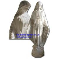Quality Marble Statue,Stone Carving,  Sculptures -Virgin Mary for sale