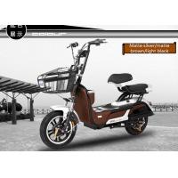 Buy cheap Electric Pedal Moped Street Bike , Electric Scooter With Seat For Adults from wholesalers