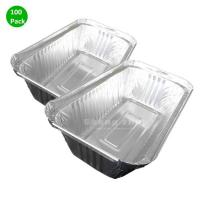 Buy cheap Aluminum Tins Baking (100 Pack), Aluminum Foil Pans, Foil Pans for Toaster Oven, Aluminum Disposable Pans for BBQ from wholesalers