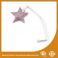 Wholesale Zinc Alloy Star Shape Purse Hook Hanger For Table Top Purse Hanger from china suppliers