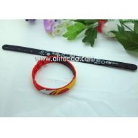 Wholesale Promotional gifts custom soft silicone wristband for children sports meeting events club from china suppliers