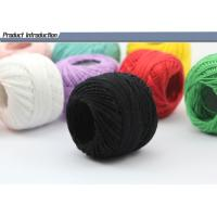 Buy cheap Various Colors Mercerized Cotton Sewing Thread Custom Made Strong Cotton Thread from wholesalers