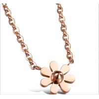 China 18K GOLD plated Stainless steel necklace-N01 on sale